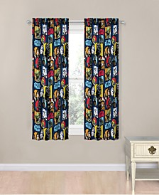 "Star Wars Galactic Grid 63"" Drapes"