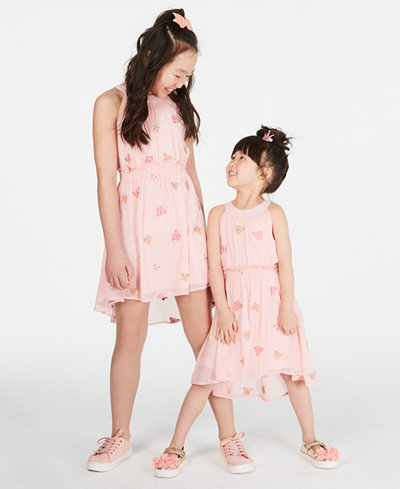 Epic Threads Big & Little Girls Embroidered Butterfly Dress, Created for Macy's
