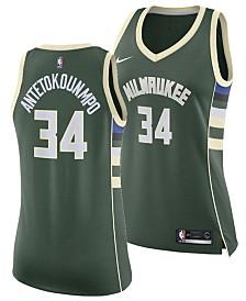 Nike Women's Giannis Antetokounmpo Milwaukee Bucks Swingman Jersey