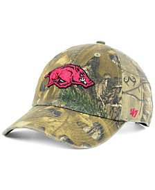 '47 Brand Arkansas Razorbacks Real Tree CLEAN UP Cap
