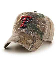 '47 Brand Texas Tech Red Raiders Real Tree CLEAN UP Cap