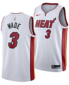 Men's Dwyane Wade Miami Heat Association Swingman Jersey