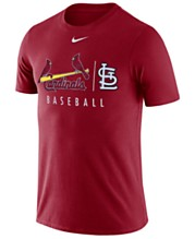 timeless design 8a6bf 321b7 Nike Men s St. Louis Cardinals Dri-FIT Practice T-Shirt