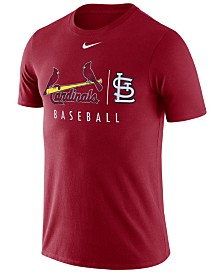 Nike Men's St. Louis Cardinals Dri-FIT Practice T-Shirt