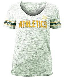Women's Oakland Athletics Space Dye T-Shirt