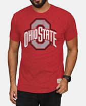 sports shoes 88ef0 21c83 Retro Brand Men s Ohio State Buckeyes Mock Twist T-Shirt