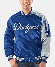 Men's Los Angeles Dodgers Dugout Starter Satin Jacket