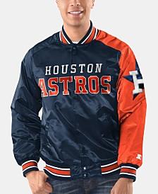 Starter Men's Houston Astros Dugout Starter Satin Jacket