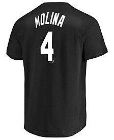 Majestic Men's Yadier Molina St. Louis Cardinals Tuxedo Pack Player T-Shirt