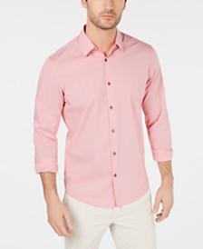 Alfani Men's STRETCH Modern Stripe Shirt, Created for Macy's