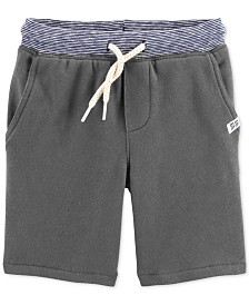 Carter's Toddler Boys Cotton French Terry Drawstring Shorts