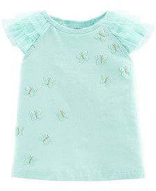 Carter's Toddler Girls Butterfly T-Shirt