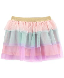Carter's Toddler Girls Tiered Ruffle Rainbow Skirt