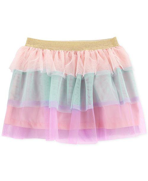Carter's Toddler Girls Tiered Ruffle Rainbow Skirt
