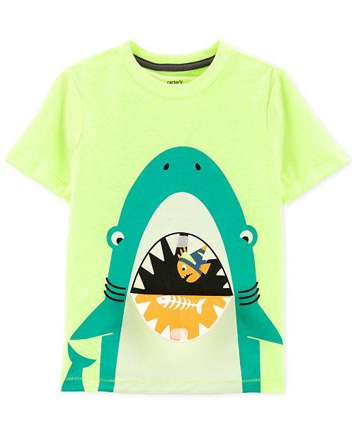 a25f268ea Carter's Toddler Boys Shark Graphic T-Shirt & Reviews - Shirts ...