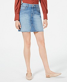 Emery Deconstructed Denim Skirt, Created for Macy's
