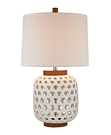 Dimond Lighting Woven Ceramic Lamp