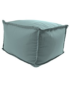 Outdoor Square Pouf - 1 Pack