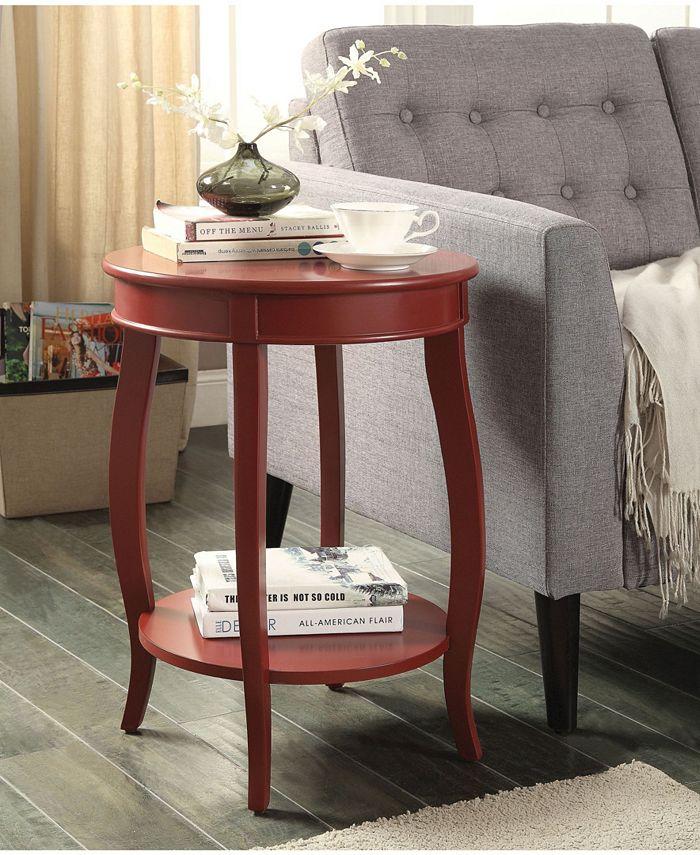 Acme Furniture - ACME Aberta Side Table, Teal