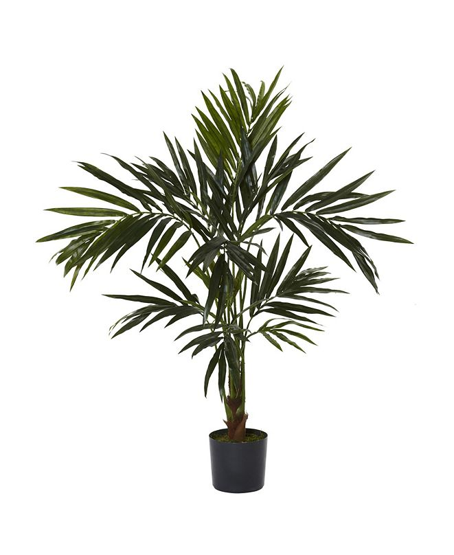 Nearly Natural 5' Kentia Faux Silk Tree