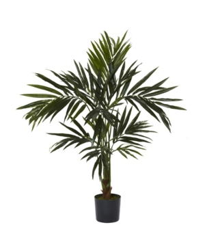 Nearly Natural 5' Kentia Faux Silk Tree