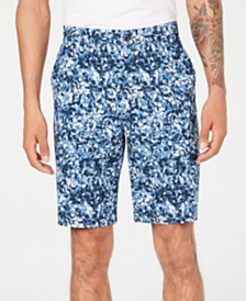 Attack Life by Greg Norman Men's Oakhill Floral-Print Shorts