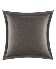 Vera Wang Burnished Quartz Charcoal Felt European Sham