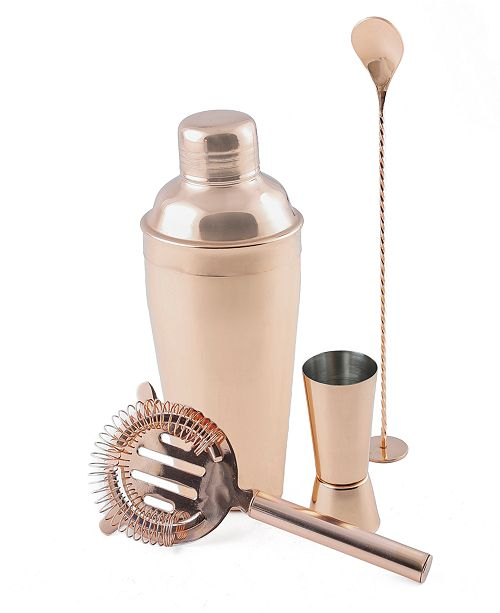 Thirstystone CLOSEOUT! Copper Stainless Steel Shaker & Tool Set