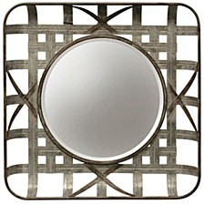 Indurtrial Galvanized Wall Mirror
