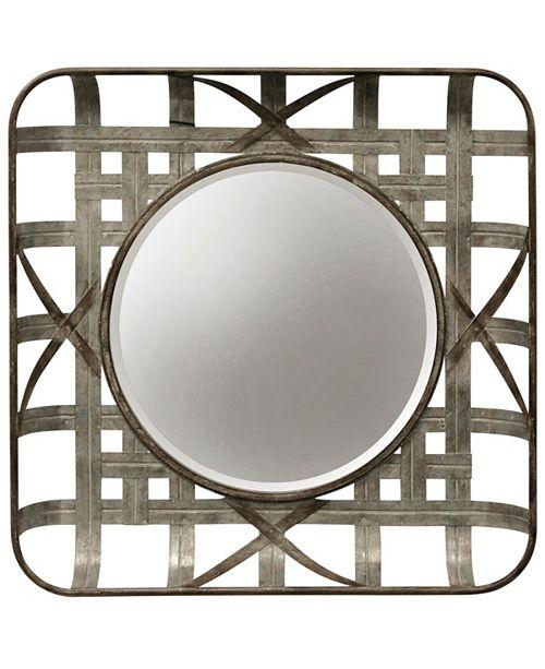 StyleCraft Indurtrial Galvanized Wall Mirror
