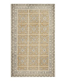 Janis Stonewash Printed Cotton Accent Rug Collection