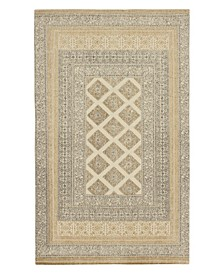 "Bryn Stonewash Printed Cotton 30"" x 50"" Accent Rug"