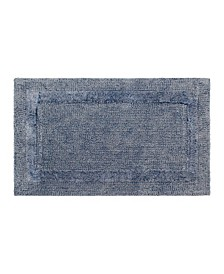 Stonewash Cotton Blend Bath Rug Collection