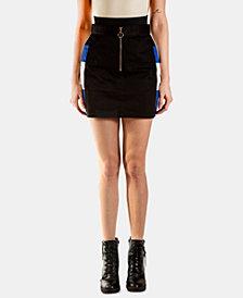 ARTISTIX Colorblocked Mini Skirt