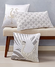 CLOSEOUT! Crane Decorative Pillow Collection, Created for Macy's