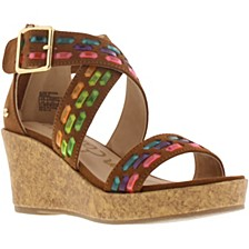 Little & Big Girls Elsie Woven Wedge