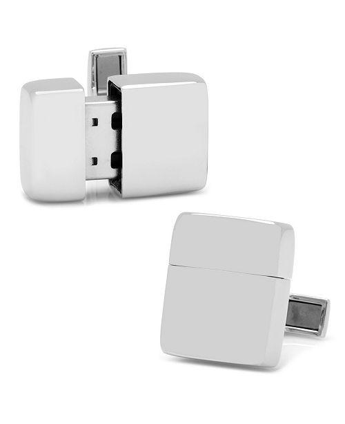 Cufflinks Inc. Stainless Steel 16GB USB Flash Drive Cufflinks