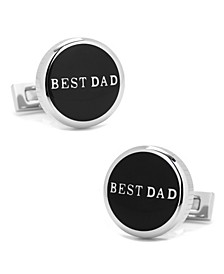 Best Dad Stainless Steel Cufflinks