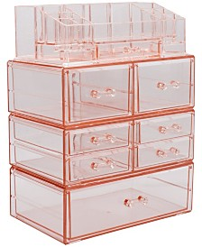 Sorbus Cosmetics Makeup and Jewelry Storage Case Large Display Sets - Style 2
