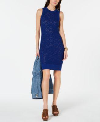 Bebe V-Neck Lace Dress