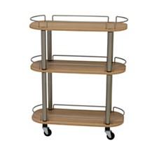 Household Essentials 3-Shelf Utility Cart