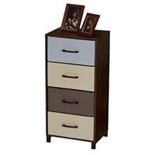 Household Essentials 4-Drawer Modular Storage Chest Stand