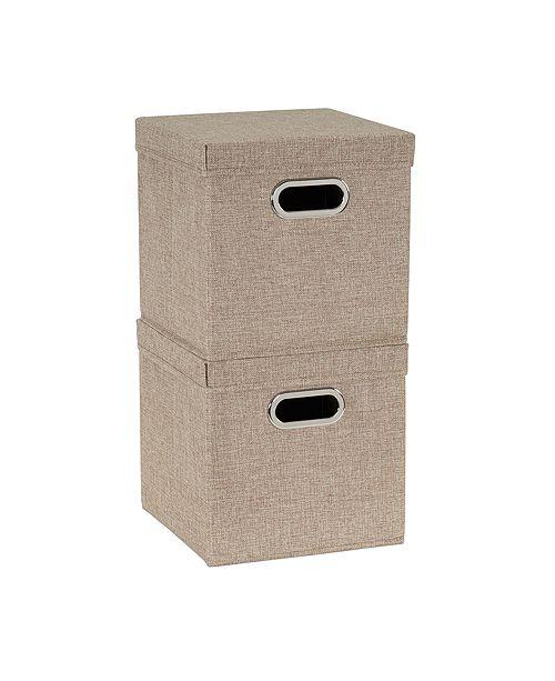 Household Essentials 2-Pc. Café Storage Box Set
