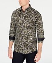 d1c0f10338f1b Michael Kors Mens Casual Button Down Shirts   Sports Shirts - Macy s