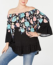 3bb55d71803f7 rayon tops - Shop for and Buy rayon tops Online - Macy s