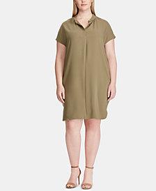 Lauren Ralph Lauren Plus Size Shift Dress