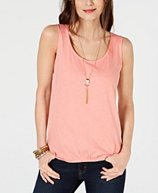 Scrunch-Front Tank Top, Created for Macy's