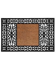 "Duchess Base Monogram 30"" x 48"" Rubber Doormat"