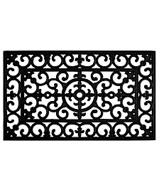 Fleur De Lis Rubber Doormat Collection
