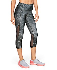 Under Armour HeatGear® Armour Capri Print